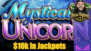 🌠🌠 Almost $10,000 In JACKPOTS And MEGA BIG WIN On Mystical Unicorn! 🌠🌠