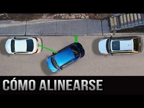 Estacionamiento paralelo - Cómo alinearse correctamente