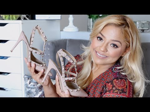 Valentino Rockstud Dupes under $125 Review, Try on and more
