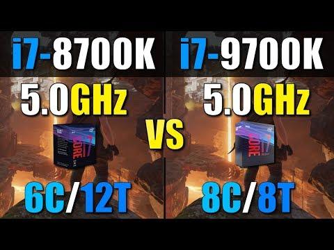 Intel Core i7 9700K vs i7 8700K - Thủ thuật máy tính - Chia
