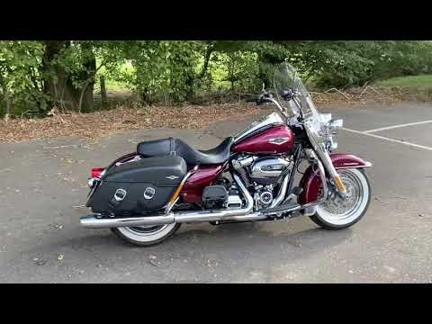 2017 Harley-Davidson FLHRC Road King Classic in Mysterious Red Sunglo and Velocity Red