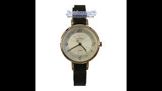 Видео обзор женских ювелирных часов VALERI l3919L