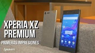Sony Xperia XZ Premium, primeras impresiones: pantalla 4K HDR, cámara hasta 960fps y Snapdragon 835