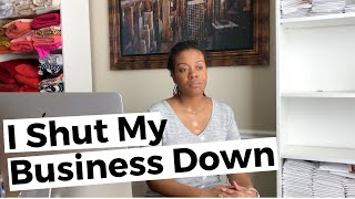 Why I Closed My Coaching Business - When To You Close Your Business?