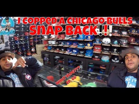 I Copped A Chicago Bulls Snapback!!!
