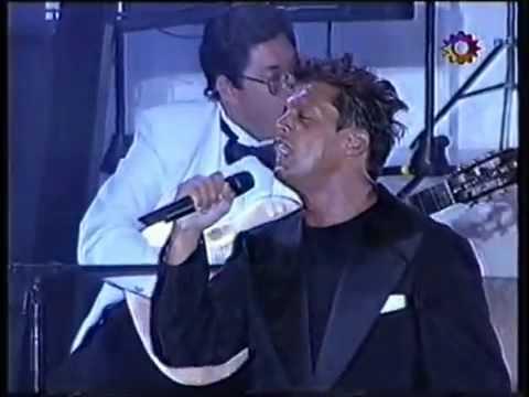 Luis Miguel - La Gloria Eres Tu en vivo