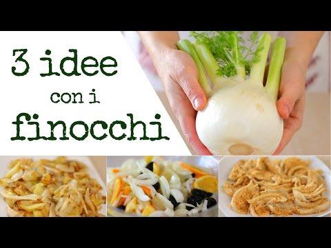 3 IDEE CON I FINOCCHI [Con Patate - In Insalata - Gratinati] Ricetta Facile con verdura di stagione