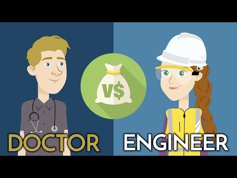 , title : 'Are Doctors Rich? $$$ ENGINEER vs DOCTOR