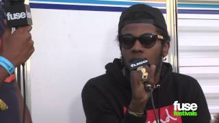 "Trinidad James on ""Ea$tside"" w/ Childish Gambino - Rock the Bells 2013"