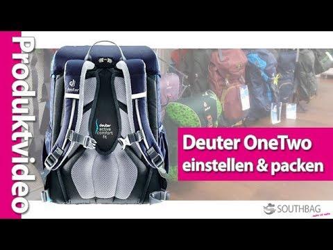 Deuter OneTwo Schulranzen - richtig einstellen und bepacken
