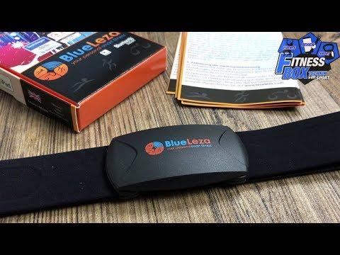 BlueLeza HRM Blue Brustgurt im Test: Wasserdichter ANT+ & Bluetooth Pulssensor