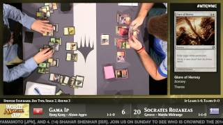 World Magic Cup 2014 Round 13 (Unified Standard): Hong Kong vs. Greece