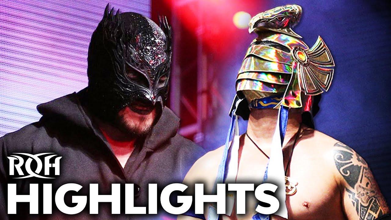 Rey Horus Vs. Demonic Flamita Announced For ROH TV