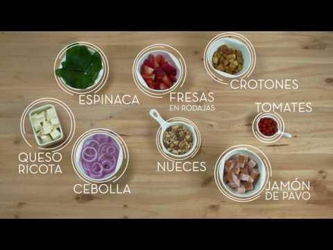 Almuerzos equilibrados - Reto saludable #3