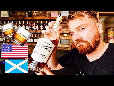 SCOTTISH REACTION TO AMERICAN WHISKEY  🥃
