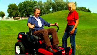 How to Operate a Zero Turn Riding Lawn Mower from Toro