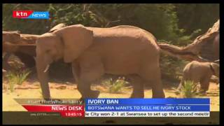 News Desk: South Africa to host talks on ivory ban,9/23/2016