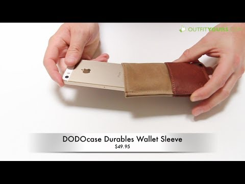 DODOcase Durables Wallet Sleeve for iPhone 5S / 5 / 5C / 4S / 4 - Review