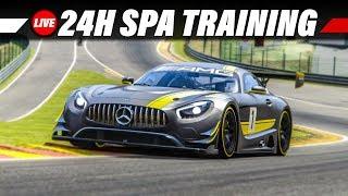 2. Training für die 24 Stunden von Spa am 20.10. | Assetto Corsa Gameplay German