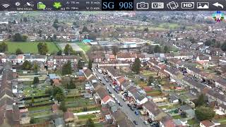 SG908 ZLL 2021 Drone's HD Video Review @ 1080p with Full Screen