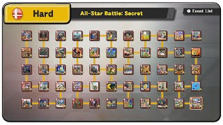 Super Smash Bros. Wii U All Events (Hard Difficulty)