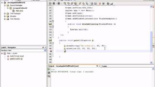 Java Applet Tutorials Eclipse 1/6
