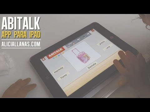 Watch videoSíndrome de Down: Abitalk Aplicación para construir oraciones