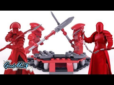 Vidéo LEGO Star Wars 75225 : Pack de combat de la Garde Prétorienne d'élite