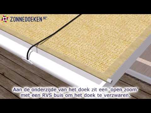 Schaduwdoeken voor een serre - zonnedoeken.nl