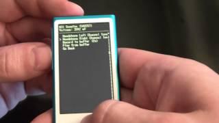 How To Get A 7th Generation ipod Nano Into Diagnostic Mode
