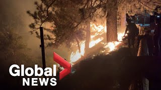 California wildfires: Bobcat Fire rages on leaving charred earth as evacuation orders remain