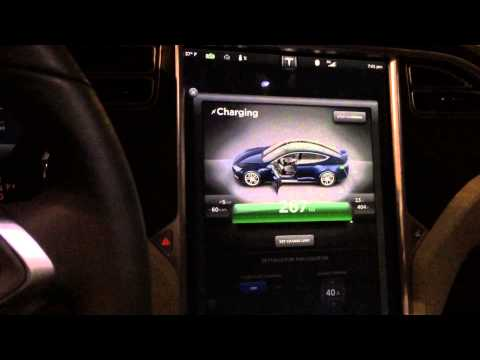 Tesla Motors Model S: 100% range on Brand New S85! 267 WOW!