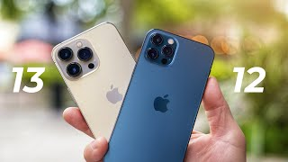 Apple iPhone 13 Pro vs Apple iPhone 12 Pro Camera Test Comparison and Unboxing!