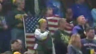 Josh Groban - Anthem at Lions vs Packers Game