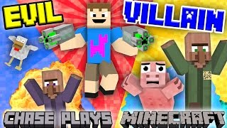 EVIL CHASE Plays MINECRAFT!  Revenge On The Village Destroyer (FGTEEV Gameplay)
