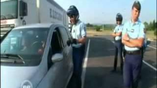 Grosse gaffe pour la Gendarmerie pendant un reportage...