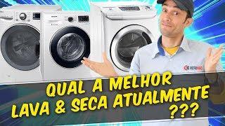 Qual a melhor máquina lava e seca?