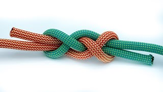 How To Tie Two Ropes Together | How To Tie The ReeverKnot | Tutorials For Climbing, Fishing, Boating