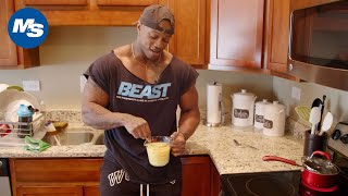 What Physique Champions Eat For Breakfast | Brandon Hendricksons Pre-Olympia 1st Meal