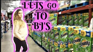 SHOP WITH ME||BJ'S WHOLESALE STORE||SHOPPING FOR 8||MOM OF 6||2018