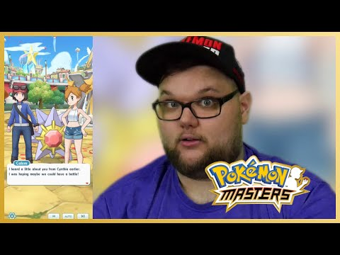 Cynthia sent Calem looking for us!?   Pokémon Masters - Chapter 20 - Part 1