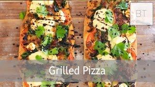 Grilled Pizza   Byron Talbott
