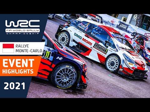 WRC 2021 トヨタ勢が大活躍した開幕戦のラリーモンテカルロ 気になる名場面をまとめたハイライト映像