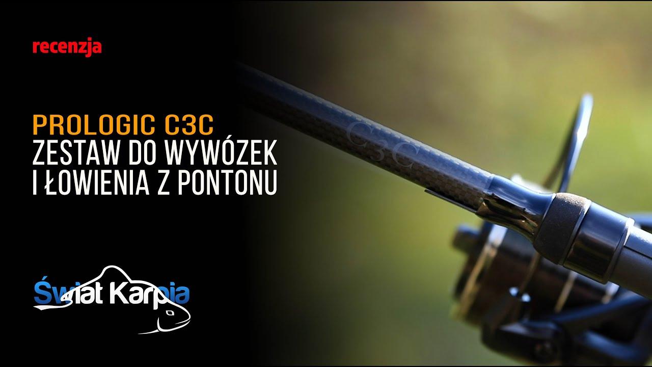 Zestaw do wywózek i łowienia z pontonu - Prologic C3C 10'