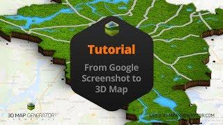 From google screenshot to 3d map - 3D Map Generator 2