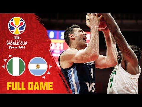 Nigeria v Argentina was a historic FIBAWC match-up! - Full Game - FIBA Basketball World Cup 2019