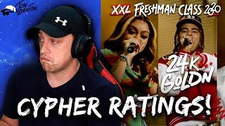 WORST TO BEST!! | XXL 2020 Cyphers - REACTION and RATING!!!