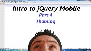 jQuery Mobile Lesson 4 - Theming our app