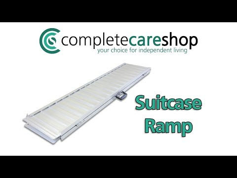 Video Demonstration Of The Economy Folding Wheelchair Ramp