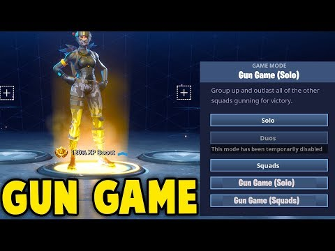 NEW GUN GAME GAMEMODE in Fortnite! (Confirmed By Epic DEV)
